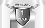 1 Year Free Warranty