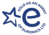 Sold as an agent of Euronics Ltd. banner