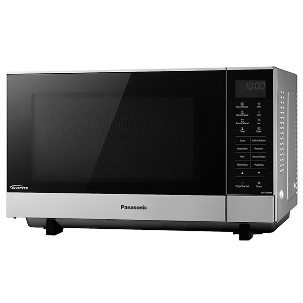 Panasonic Nn Sf464mbpq Microwave Oven In Silver Best