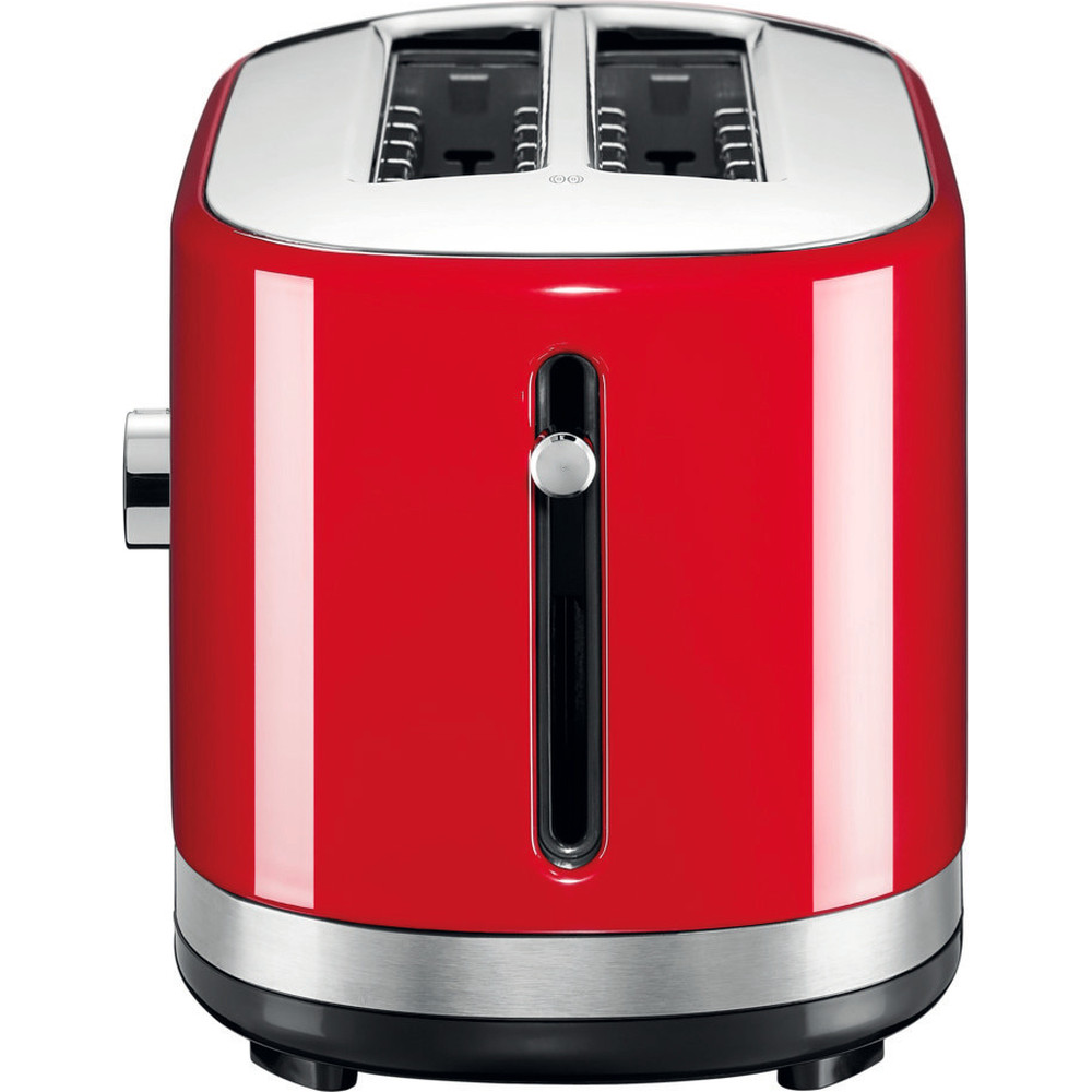 Kitchenaid Manual Control Long Slot Toaster In Empire Red 5kmt4116ber