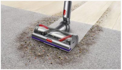 V11 Absolute by Dyson Vacuuming a Carpet - FreeNET Electrical