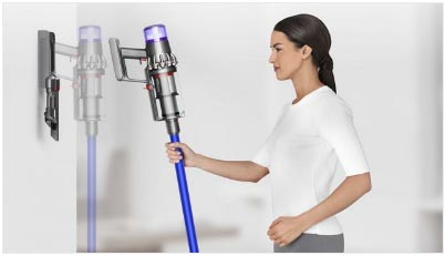 Hanging Up Handheld Cordless Vacuum Cleaner - Dyson V11 Absolute
